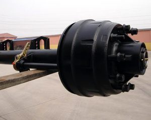 127-Round-Beam-Semi-Trailer-Axle