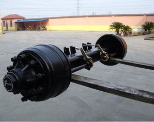 127-Square-Beam-Semi-Trailer-Axle