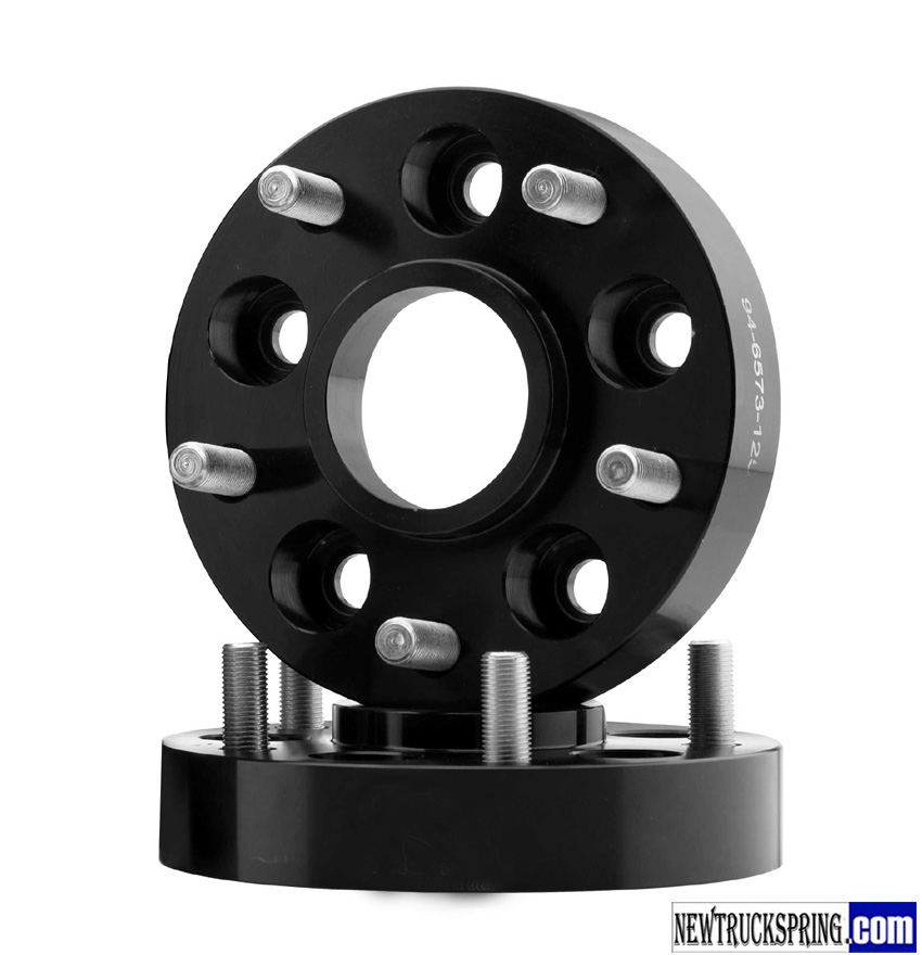 1 Inch Wheel Spacers : Inch bolt pattern with offset wheel spacers