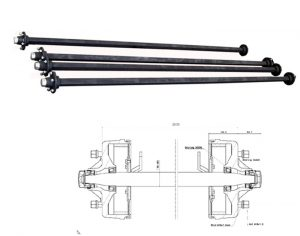 Agricultural-Solid-Square-Beam-Axle