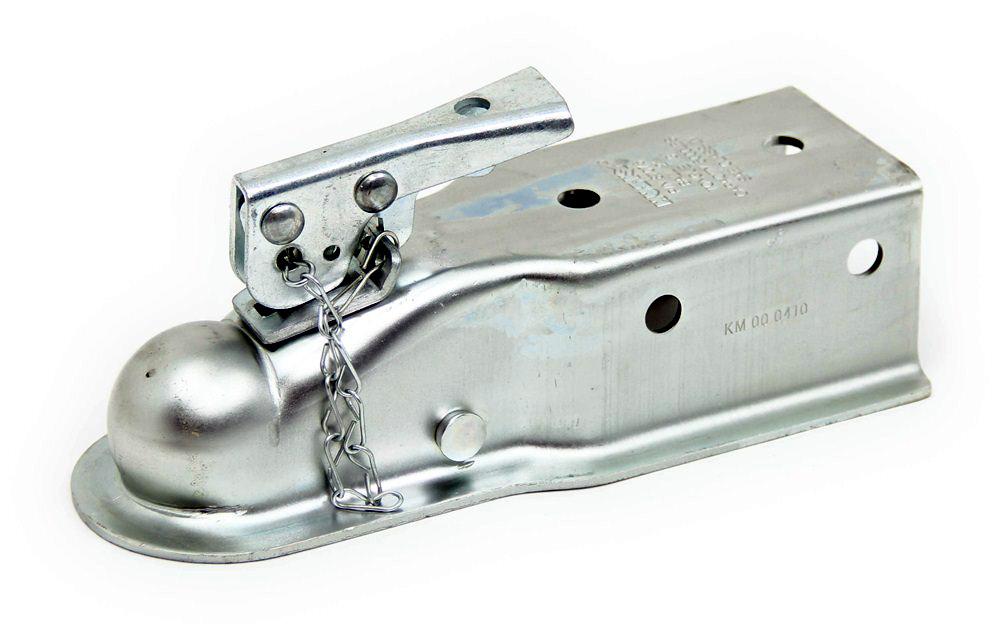 Spring Hitch Coupler : Demco ball inch wide bolt on trailer coupler