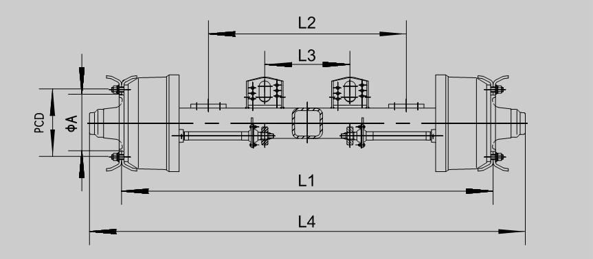 Gernan-Type-Drum-Wheel-Axle-2