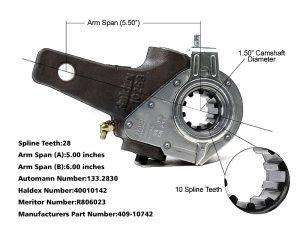 Haldex-Automatic-Slack-Adjuster-1.5-inch