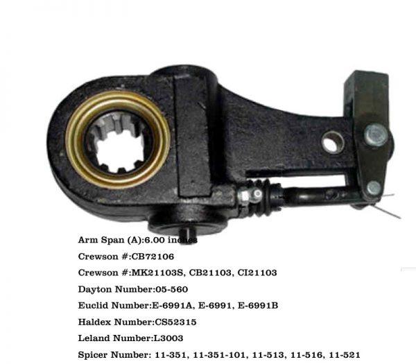Haldex-Automatic-Slack-Adjuster-1.5-inchs