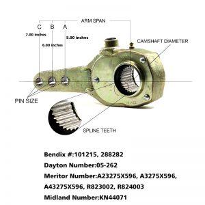 Haldex-KN44071-Slack-Adjuster