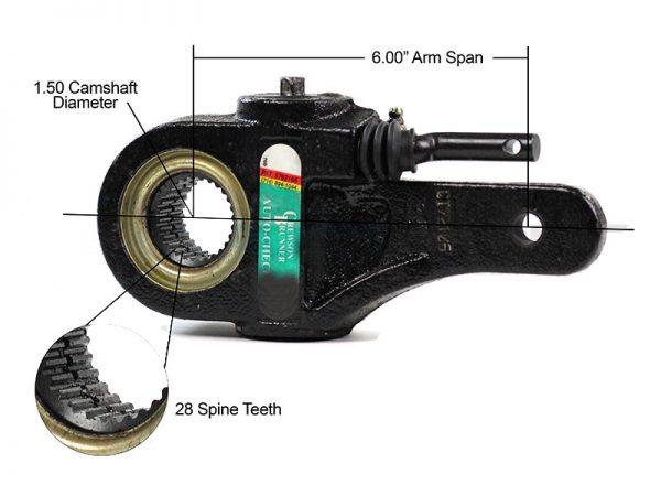 Slack-Adjuster-1.5-inch-28-Spline