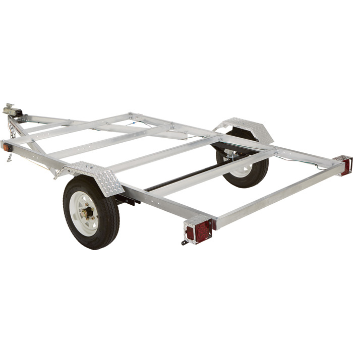 Small Trailer Ultra Tow 5ft X 8ft Aluminum Utility