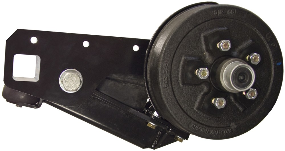 Trailer Axles Brakes System : Timbren half axle suspension parts electric brake hubs